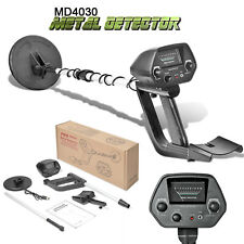 "Md-4030 Metal Detector Pro Edition Hobby Explorer Waterproof Search Coil 6.5"" Us"