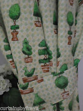 Country Pictorial Curtains & Pelmets