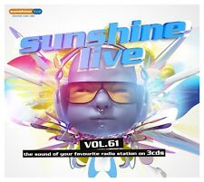 Sunshine Live 61 (boxe) 3 CD NUOVO