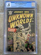 Journey Into Unknown Worlds #17 CGC 1953 Atlas Comics Pre-Code Horror