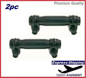 Premium Adjusting Tie Rod Sleeve SET Front For Chevy GMC Ford Jeep Kit ES2004S