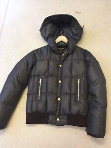 louis vuitton brown puffer jacket S