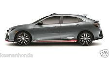 Genuine OEM Honda Civic 5Dr Hatchback Side Under Body Spoiler 17-18 LX EX EX-L