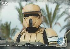 "Star Wars Rogue One Series 1: #41 ""Shoretrooper"" Black Parallel Base Card"