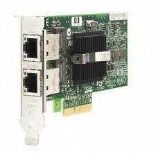HP nc360t Dual-Port Gigabit NIC PCI-e Server Adattatore PCIe a mezza altezza CARD SFF