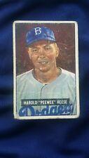 Harold Pee Wee Reese 1951 Bowman #80 Brooklyn Dodgers good condition