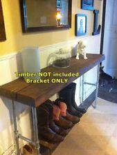 Rustic Industrial Furniture Vintage Iron Pipe DIY Hall Table Legs Silver DTL22