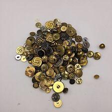 Gold Buttons Random Assortment Mixed Lot