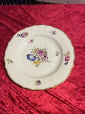 Royal Copenhagen Saxon Flower Dinner Plate #1621. Measures 25cm