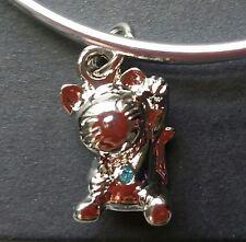 "Foxwoods Casino 25th Anniversary ""Lucky Cat"" Charm Bracelet"