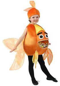 Kid's Feed Me Beta Fish Nemo Costume SIZE M/L (Used)