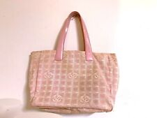 CHANEL Travel line Canvas Tote Bag
