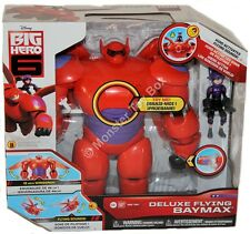"Deluxe Flying Sounds Baymax with Hiro 18"" Wingspan Disney Big Hero 6 US Seller"