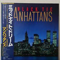 MANHATTANS BLACK TIE CBS/SONY 25AP 2046 Japan OBI VINYL LP