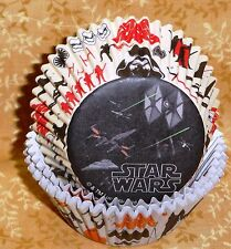 Star Wars VII,Cupcake Papers,Bake cups,Wilton,The Force Awakens,Syth