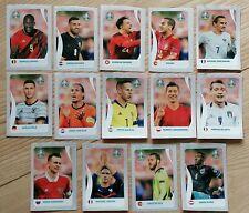 Coca Cola Sticker Komplett Set C1 - C14  - Panini EURO EM 2020 Tournament