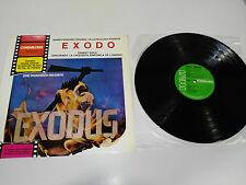 """EXODE EXODUS BANDE ORIGINALE ERNEST GOLD LP 12"""" VINYLE EDITION ESPAGNOLE 1972"""