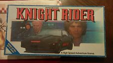 Vintage Michael Knight Rider Board Game KIT TV Show  1983 Parker Brother