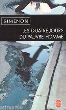 Les quatre jours du pauvre homme // Georges SIMENON