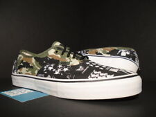 VANS AUTHENTIC S CHINA GIRL SUMMER GREEN CAMO BLACK BROWN WHITE VN-0EFPD1P 11