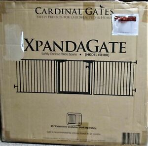 Cardinal Gates Xpandagate ....model EX 100...WHITE