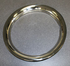 "NEW! 14"" TRIM RING STAINLESS STEEL Mustang, Cougar, Torino Price is Each Style"