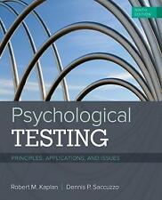 Psychological Testing : Principles, Applications, and Issues (9th Ed.)  by Kapla