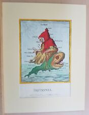 "JAMES GILLRAY "" BRITANNIA "" RARE T.McLEAN EDITION."