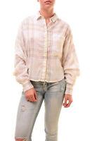 Free People Womens Unique Cutie Plaid Button Down Shirts Size XS