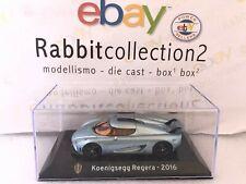 "DIE CAST "" KOENIGSEGG REGERA - 2016 "" SUPER CAR SCALA 1/43"