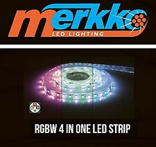 RGBW 4 In 1 LED Strip 5050 Flexible DC24V  RGB+White Rope Lights IP65 Warm White