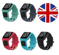 TomTom 1 Runner Golfer One Replacement Watch Strap Silicone Band - Metal Buckle