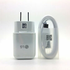 LG Fast Adaptive USB Wall Charger Type C Cable for LG G5 G6 G7 V20 V30 Nexus 6P