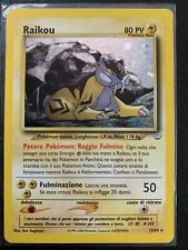 Raikou Legendary Holo Rare -Neo Revelation Pokemon Set- NM Condition #13/64