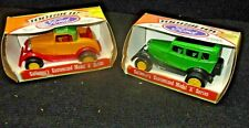 VINTAGE TOOTSIE TOY DIECAST CARS FORD MODEL A SERIES - NEW OLD STOCK-