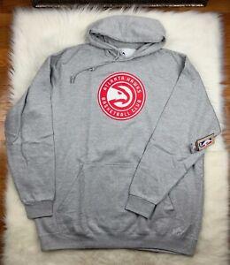 Atlanta Hawks Big & Tall Pullover Gray Hoodie Men's 3XLT MSRP $55 NBA