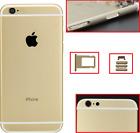 BACK RETRO COVER MIDDLE SCOCCA TELAIO POSTERIORE PER APPLE IPHONE 6S ORO GOLD