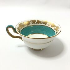 Wedgwood Whitehall Powder Turquoise Replacement Footed Tea Cup Bone China