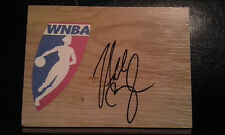 NIKKI MCCRAY Signed WNBA Floor Tile LADY VOLS Basketball FREE SHIPPING
