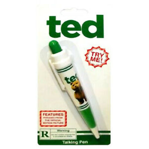 Officially Licenced Ted Designed Excellent Quality Talking Pen Rater R Version