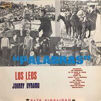 Los Leos y Johnny Dynamo Palabras Jerk Folk Rock Pokora Beat Pop EX orfeon mex