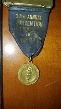 RARE 1925 AMERICAN PHOT ENGRAVERS MEDAL RIBBON NEW YORK CITY 29TH CONVENTION