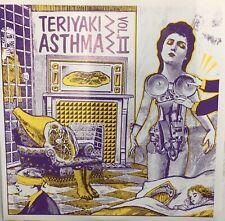 """TERIYAKI ASTHMA VOL II 2 Various Artists 7"""" EP EX Red Vinyl 1989 Punk Indie"""