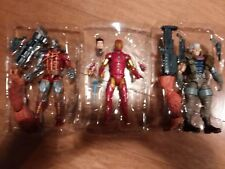 Marvel legends lot Cable Custom Iron Man Deathlok