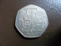 50 PENCE GREAT BRITAIN 2006 CIRCULATED 50P COIN 150th VICTORIA CROSS VC