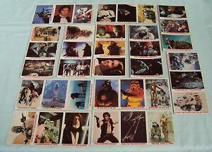 Vintage Star Wars Burger King Cards Uncut  c 1977 - 1980 Coca-Cola 36 card set