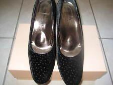 Fashion Shoes from Italy - Armando Arcangeli Black Evening Heels