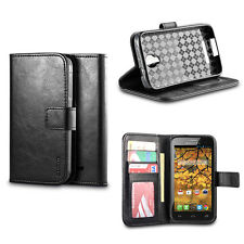 IZENGATE Wallet Flip Case PU Leather Cover for Alcatel One Touch Fierce 7024W
