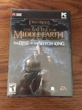 Sealed LOTR Battle For Middle Earth II Rise of the Witch King Expansion Pack PC