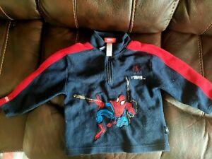 Boys Spiderman Fleece Jumper 4-5 Years